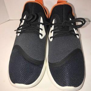 low priced 8486d 50f91 Nike Shoes - NIKE Lunarcharge BN black white orange safari sz 9